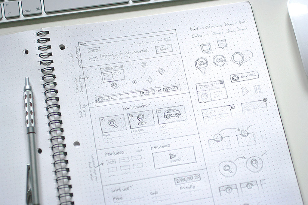 3 secrets of the best designed websites in the world for Good drawing websites